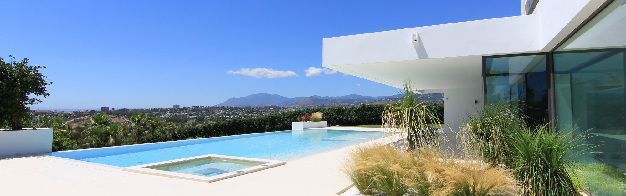 Luxury villa Marbella with pool.